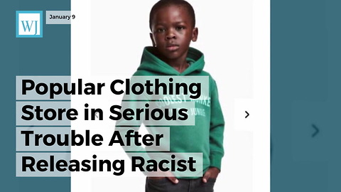 Popular Clothing Store In Serious Trouble After Releasing Racist 'Monkey In The Jungle' Sweatshirt Ad
