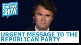 Urgent Message to the Republican Party