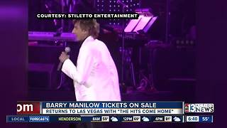 Barry Manilow Back In Las Vegas - Video