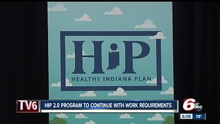 Medicaid work requirement, drug treatment approved as part of HIP 2.0 extension - Video