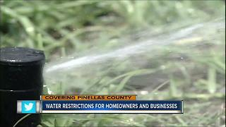 Water restrictions for homeowners and businesses - Video