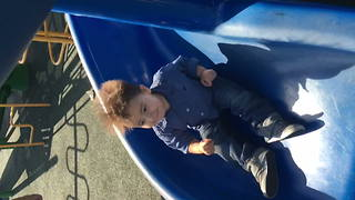 """Kid Gets Static Hair On The Slide"""
