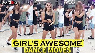 Girl's Awesome Freestyle Dance Video is taking the internet by storm - Video