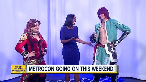Anime heroes descend on Tampa for Metrocon