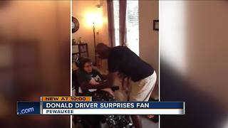 Driver surprises Pewaukee woman - Video
