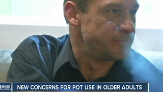 Researchers worry as info lags on marijuana use by older adults - Video