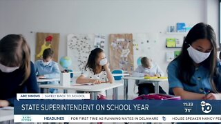 State superintendent addresses timeline for reopening schools