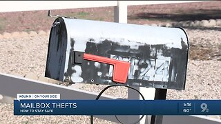 Mail thieves: Keep YOUR mail out of THEIR hands