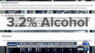 As Denver weighs changes, will other cities loosen alcohol rules at parks? - Video