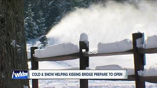 Weather help for Kissing Bridge - Video