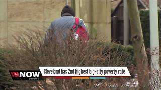 A Cleveland father finds the resources to fight poverty while the city continues to struggle - Video