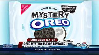 Oreo reveals mystery flavor - Video