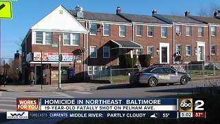 Man shot and killed in Northeast Baltimore - Video