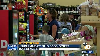 New Grocery Outlet in Allied Gardens to hold community grand opening event - Video