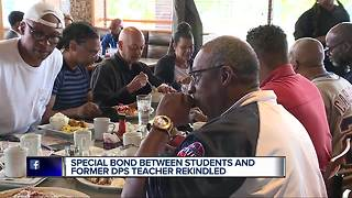 Special bond rekindled between students and former DPS teacher