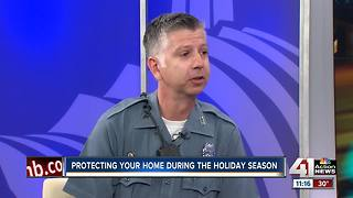 Protecting your home during the holidays - Video