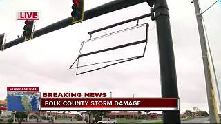 Polk County storm damage - Video