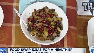 Healthier Thanksgiving meals - Video