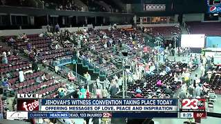 Three-day Jehovah's Witness convention held at Robobank Arena - Video