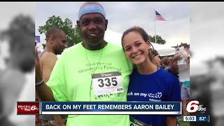 Back on my Feet group remembers Aaron Bailey - Video
