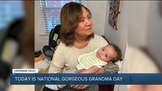 Today is National Gorgeous Grandma Day