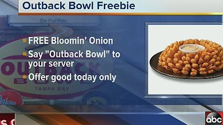 Outback Bowl freebie