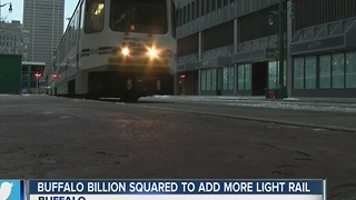 Buffalo Billion Squared to add light rail - Video