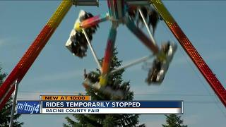 Racine Co. Fair has similar ride that left one dead in Ohio - Video