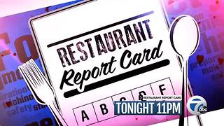 Wednesday at 11: Restaurant Report Card