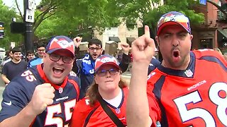 Broncos fans in Nashville for NFL Draft discuss who they think the team should take in first round
