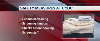 CCDC inmates tested positive for COVID-19