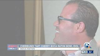 Cherribundi Tart Cherry Boca Raton Bowl Idol - Video