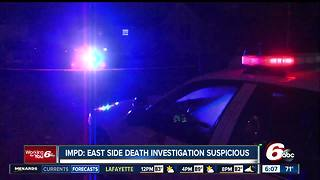 Man found shot dead inside front door of east side house - Video