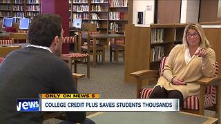 College credit plus saves students thousands - Video
