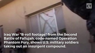 Insurgents Won't Come Out, Marine Sends Grenade Through Window - Video