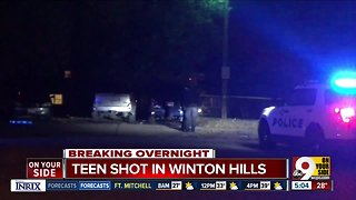 Police searching for a suspect in Winton Hills shooting - Video