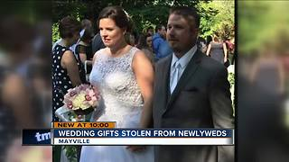 $15K stolen from Dodge County newlyweds on wedding night - Video