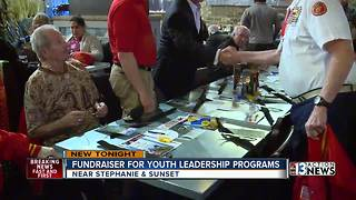 Fundraiser for local youth leadership programs - Video