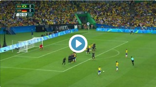 VIDEO: Neymar unbelievable free-kick goal vs Germany - Video