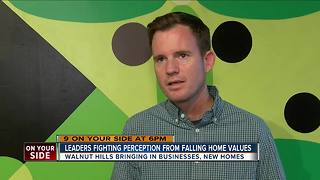 Leaders fighting perception from falling home values - Video
