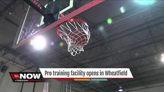 Pro training facility opens in Wheatfield - Video