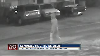 Tampa PD: Two recent homicides appear to be related, residents urged to be vigilant - Video