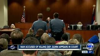 Man accused of shooting Adams County deputy makes first court appearance - Video