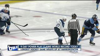 Family members support 11 day powerplay - Video