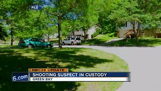 Man arrested in connection with Green Bay shooting - Video