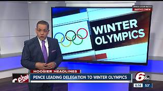 Vice President Pence leading U.S. delegation to Winter Olympics - Video