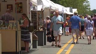 Ann Arbor Art Fair happening all weekend - Video