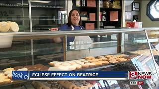 Eclipse 2017: Beatrice sees the impact of 15,000 visitors - Video