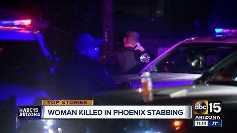 Suspect in custody after deadly stabbing in Phoenix