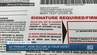 How secure is my vote? A look at election security in Arizona